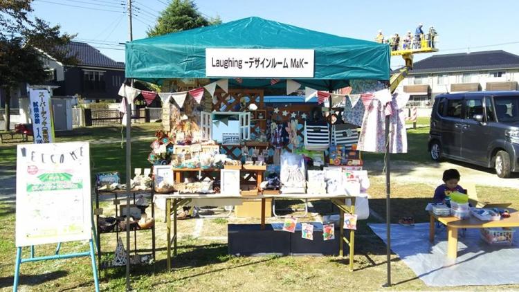 桶川市民祭りでのデザインルームM&K